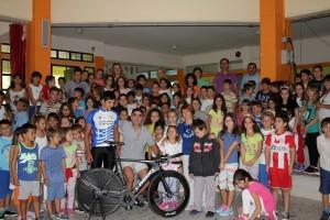 """Επίσκεψη του ποδηλατικού συλλόγου """"ΠΟΔΗΛΑΤΟΔΡΟΜΟΣ"""""""
